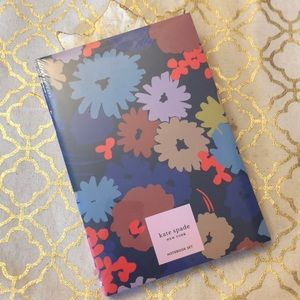 New Kate Spade Triple Notebook Set